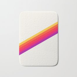 VHS Rainbow 80s Video Tape Bath Mat