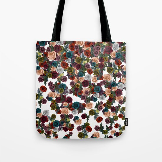 mini floral Tote Bag
