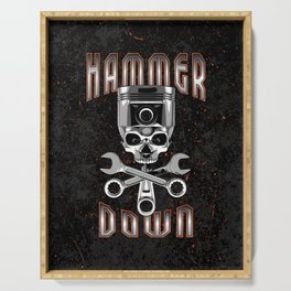 Hammer Down Serving Tray