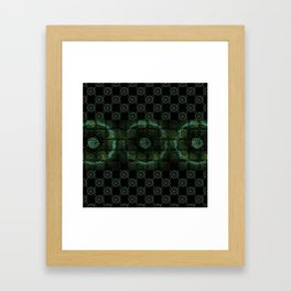 Mysic Circles Framed Art Print