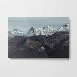 Mountain Mood II Metal Print