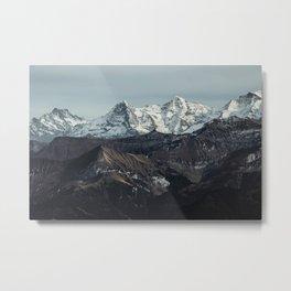 Mountain Mood II Metal Print