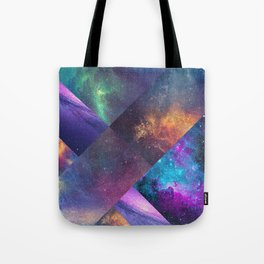 Galaxy Collage Tote Bag