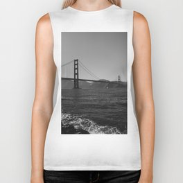 Golden Gate Bridge III Biker Tank