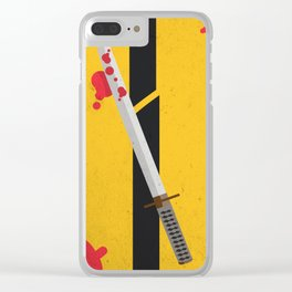 KILL BILL Tribute Clear iPhone Case