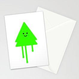 Happy Xmas Tree Stationery Cards