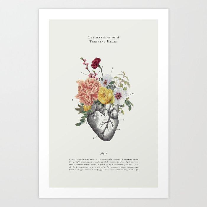 A Thriving Heart Kunstdrucke