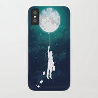 night iPhone & iPod Cases featuring Burn the midnight oil  by Picomodi