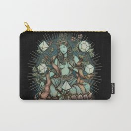 Sacred Geometry Mother - muted colors Carry-All Pouch