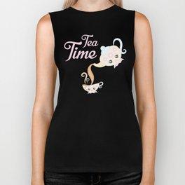 Tea Time Biker Tank