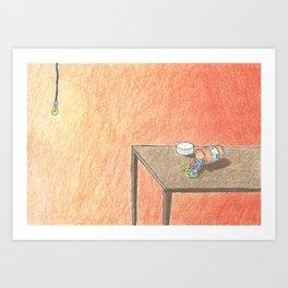 Love/Drug Art Print