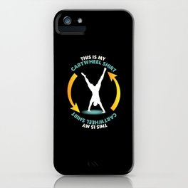 Gymnastics iPhone Case