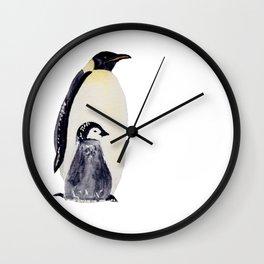 Manchot-pingouin-banquise Wall Clock