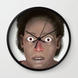 Surprisingly Mugshot Wall Clock