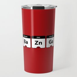 Bazinga Periodic Table Funny Quote Travel Mug