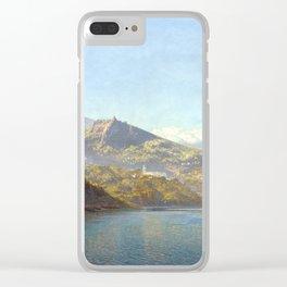 John Brett Massa, Bay of Naples Clear iPhone Case