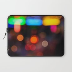 Night Light Colors Laptop Sleeve