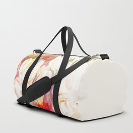 Tulip Fever Abstract Art Duffle Bag