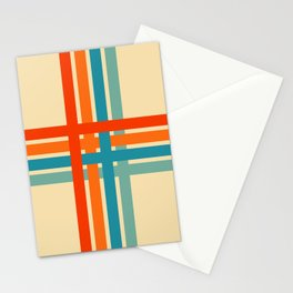 Retro Cross 02 Stationery Cards