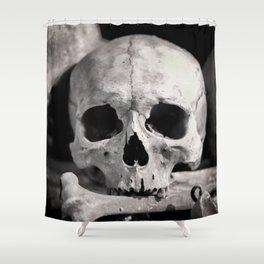 Skulls And Bones Shower Curtain