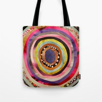 portal Tote Bags featuring Portal  by Emily Kenney