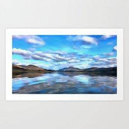 Loch Lomond (Painting) Art Print