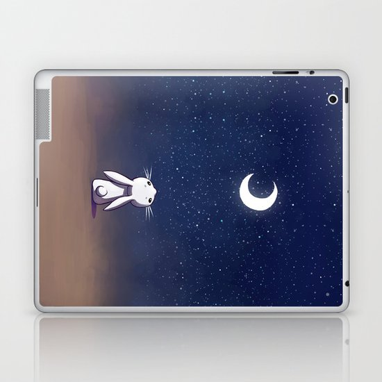 Moon Bunny Laptop & iPad Skin