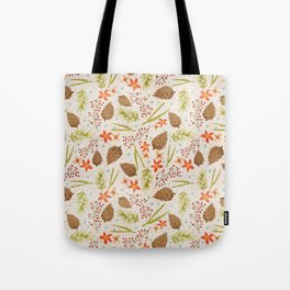 Quiet Walk In The Forest - A Soft And Lovely Pattern Tote Bag