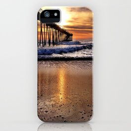 "Hermosa Beach ""Water Drops"" iPhone Case"