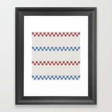 Pattern Pippi Framed Art Print