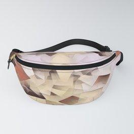 Geometric Stacks Neutrals Fanny Pack