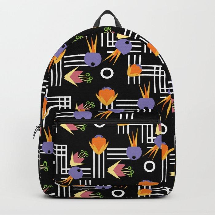Flowers Nouveau Backpack