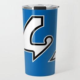 42 - Blue Travel Mug