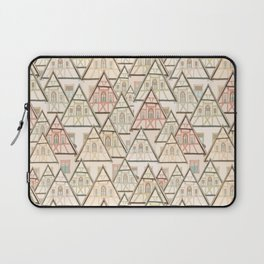 Pattern Houses Laptop Sleeve