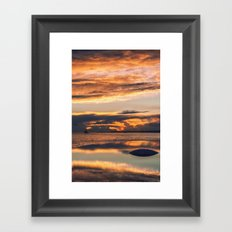 Sunset from the Champalimaud Foundation Framed Art Print