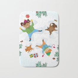 Snow fun Bath Mat