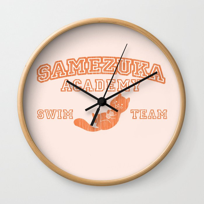 Samezuka - Otter Wall Clock