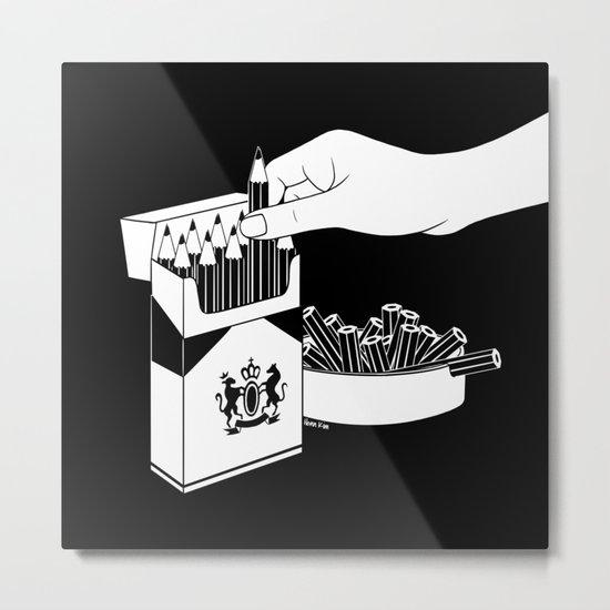 Art Addiction Metal Print