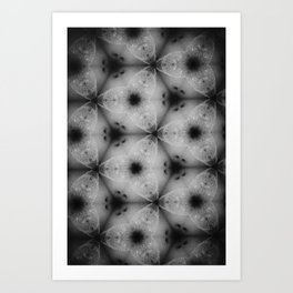 black holes Art Print