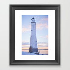 The Lighthouse. Framed Art Print