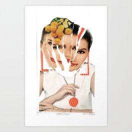zerrissen Art Print