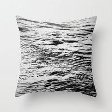 Ripling Water Throw Pillow