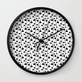 Pitcher Plant Flower Wall Clock