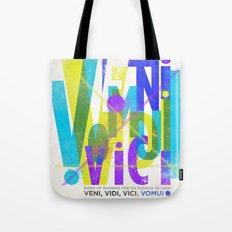 Veni, Vidi, Vici. Vomui. #2 Tote Bag