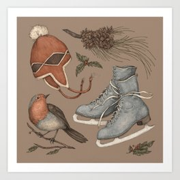Winter Collection Art Print