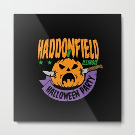 Haddonfield Halloween Party Metal Print