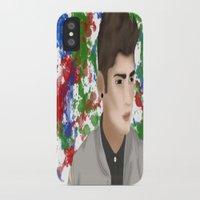 1d iPhone & iPod Cases featuring Zayn 1D by Maranda Rae