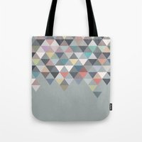 nordic Tote Bags featuring Nordic Combination 20 by Mareike Böhmer