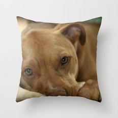 I am thinkin' Throw Pillow