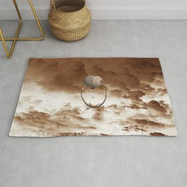 United Clouds and Lovers Rug